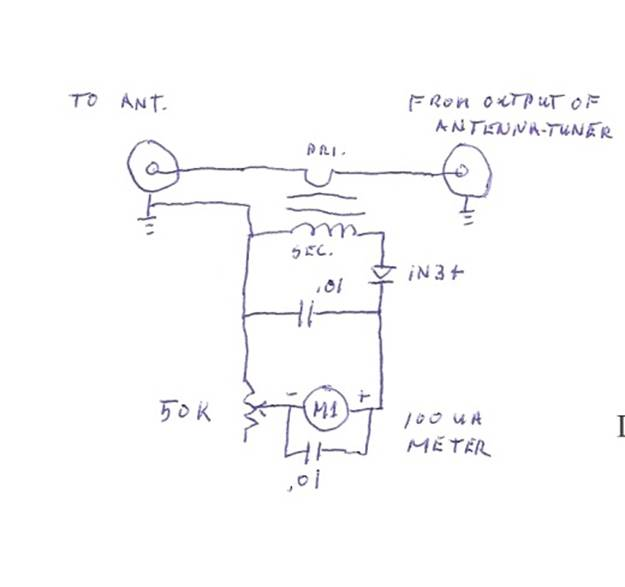 Rf Output Indicator. Wiring. Long Wire Antenna Tuner Schematic At Scoala.co
